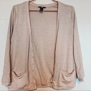 Dusty pink cardigan - H&M 💞